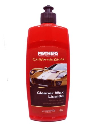Cleaner Wax Líquida California Gold 473ml Mothers