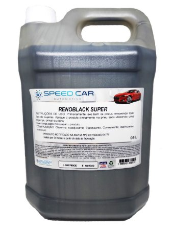 Renoblack Super Speed Car 5Litros