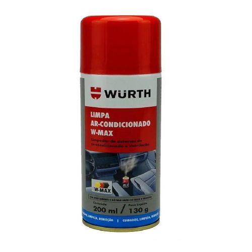 Higienizador Limpa Ar Condicionado W-max Wurth Lavanda carro