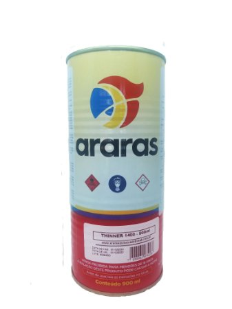 Thinner 1400 Araras 900ml