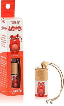 Aromatizante para carro - Lodore Hamster