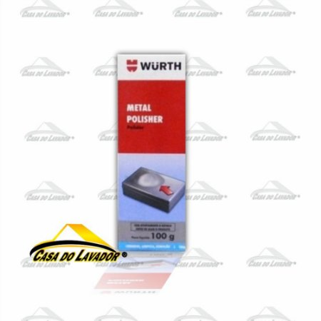 Polidor de Metais Metal Polisher 100g Wurth