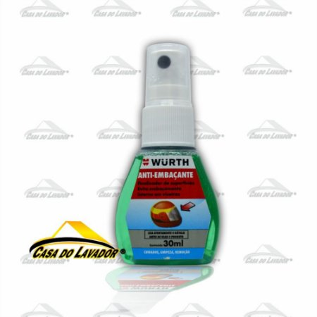 Anti Embaçante viseira de capacete moto Wurth 30ML