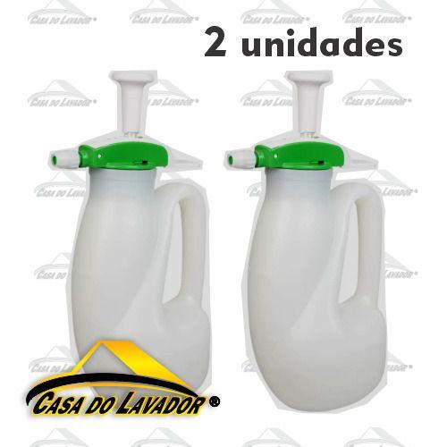 2 Pulverizadores de Compressão Previa Guarany 1,2L