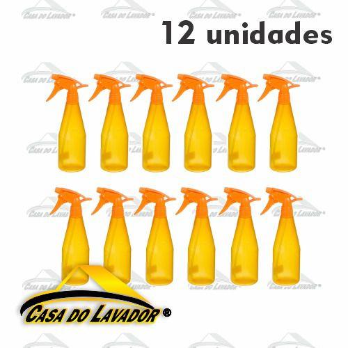 12 Unidades Pulverizador Ultrajet - Laranja GUARANY 500ml