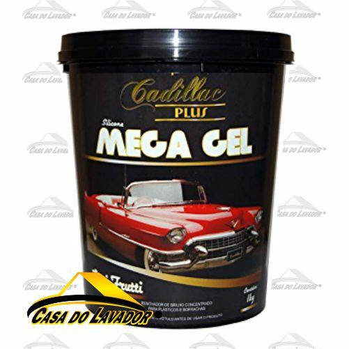 Silicone Mega Gel 1KG - Tutti- Frutti Cadillac