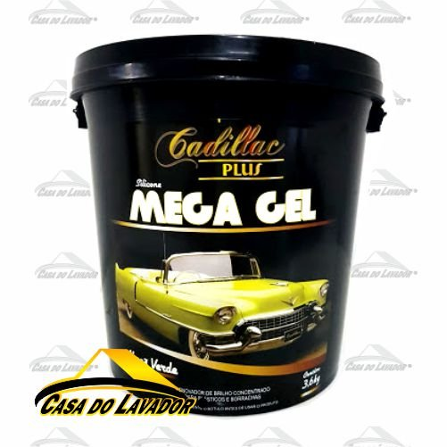 Silicone Mega Gel 3,6KG - Maça Verde Cadillac