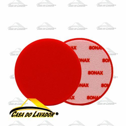 Boina de Espuma Vermelha 160mm Sonax
