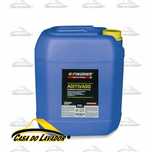 Detergente Desincrustante Aditivado Ácido Finisher - 20 Litros