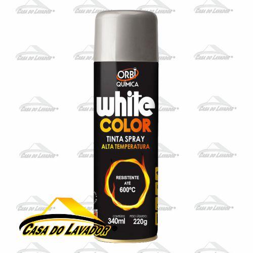 OrbiSpray Tinta Alta Temperatura Alumínio 340ML/220G