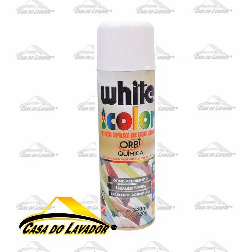 OrbiSpray Tinta Spray Branco Fosco 340ML/190G