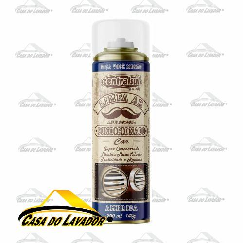 Limpa Ar Condicionado América 200ml/140g Centralsul