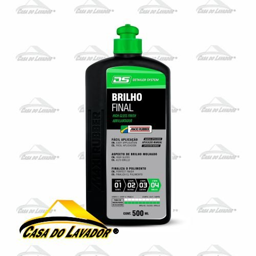 BRILHO FINAL Maxi Rubber 500ml