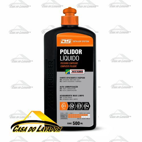 Polidor Líquido Maxi Rubber 500ml