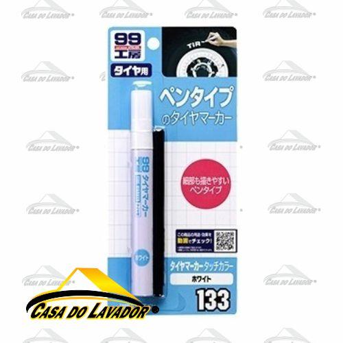 Tire Maker White - Caneta Marcação de Pneu - Branca Soft99