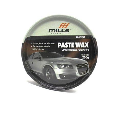 Cera Paste Wax MILLS 200g 6 Meses de Proteção