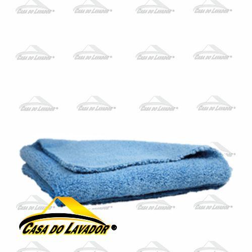 Flanela Premium Azul Para Remoção de Vitrificador 40X40CM - CORTE LAZER Autoamerica