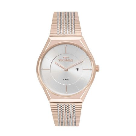 Relogio Feminino Technos Rose Gold Fashion Slim GL15AP/4B