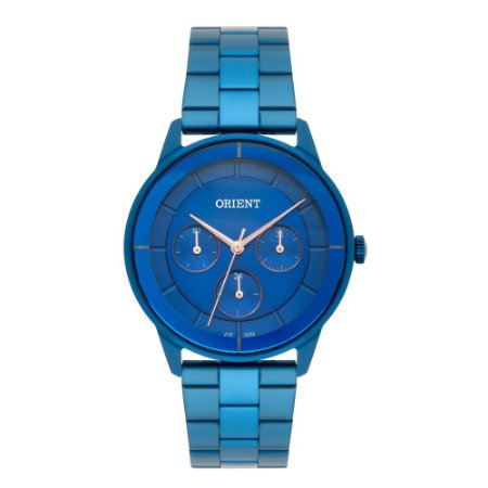 Relogio Feminino Orient Azul Multifunçao FASSM001 D1DX