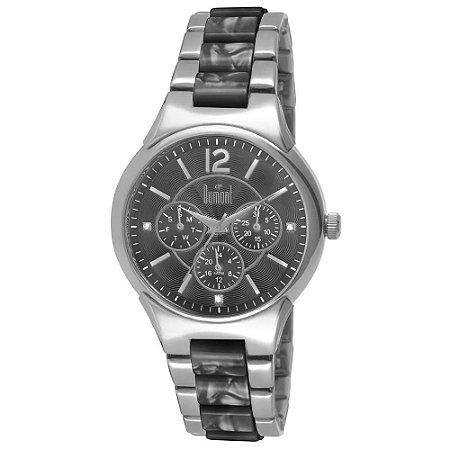 Relógio Feminino Prata Dumont Multifunção DU6P29ABG/3C