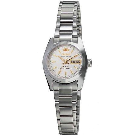 Relógio Feminino Prata Automatico 3 Estrelas Orient Original