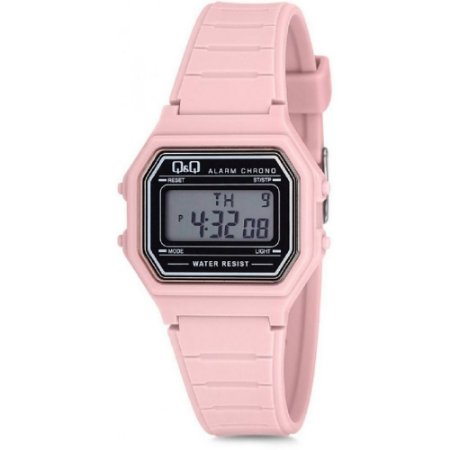 Relógio Infantil Feminino Rosa Digital Quadrado Original +NF
