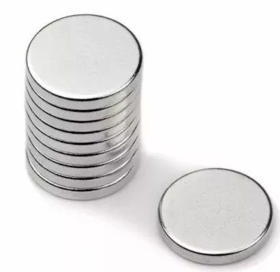 Imã De Neodímio Disco 14mm X 1,5mm