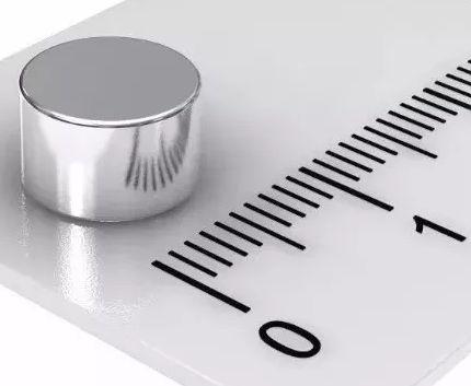 Imã De Neodímio Disco 8mm X 5mm