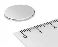 Imã De Neodímio Disco 20mm x 1,5mm