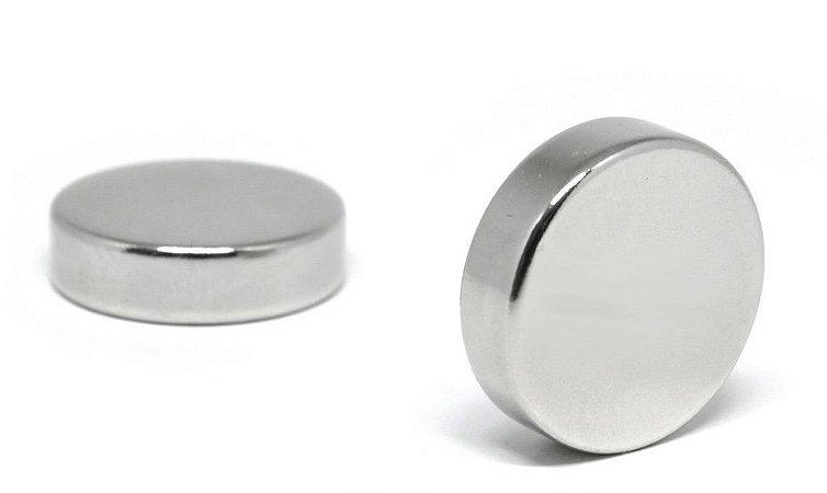 Imã De Neodímio Disco 18mm x 5mm