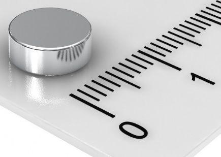 Imã De Neodímio Disco 8mm x 3mm