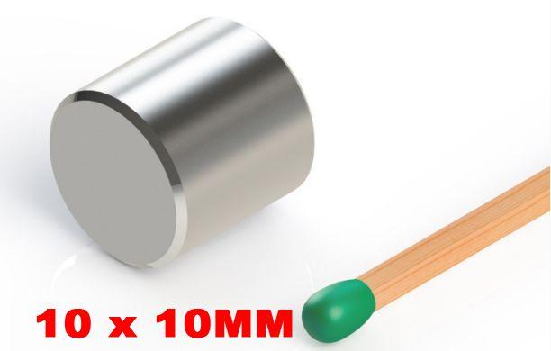 eff7315478c Imã De Neodímio Cilindro 10mm x 10mm - Super Magnet - Equipamentos ...