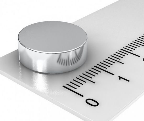 Imã De Neodímio Disco 14mm x 4mm