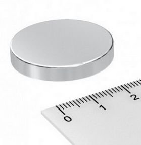Imã De Neodímio Disco 30mm x 5mm