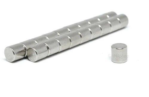 Imã De Neodímio Cilindro 5mm x 5mm