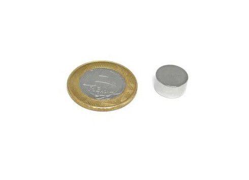 Imã De Neodímio Disco 12,7mm X 6,35mm