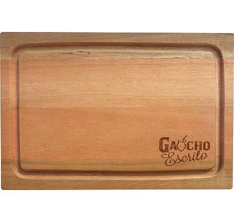 Tábua De Corte Retangular Pequena 31x21 cm Personalizada