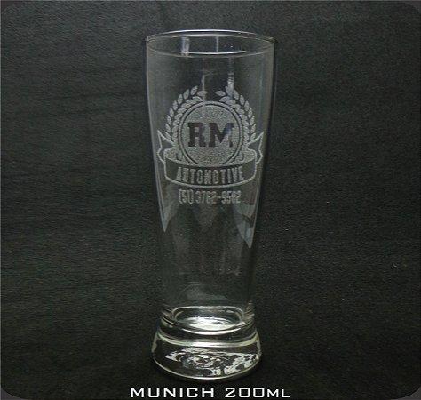Copo Vidro Munich 200ml Personalizado (cx 24 und)
