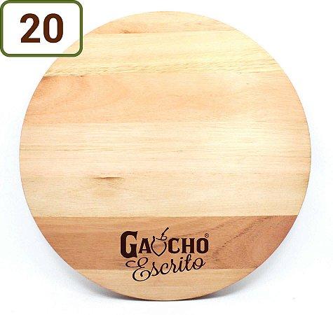 20 Tábuas Redondas Pizza 34 Cm Personalizadas
