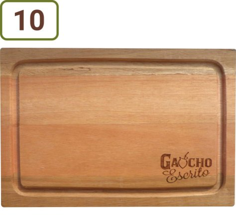 10 Tábuas De Corte Retangulares 34x24 cm Personalizadas