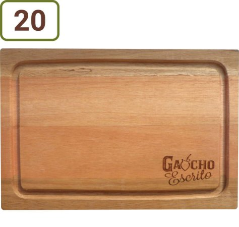 20 Tábuas De Corte Retangulares 34x24 cm Personalizadas