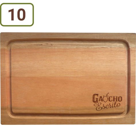 10 Tábuas De Corte Retangulares 31x21 cm Personalizadas