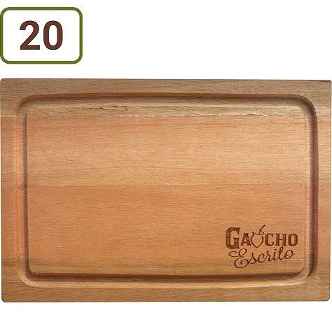 20 Tábuas De Corte Retangulares 31x21 cm Personalizadas