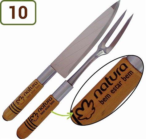 10 Kits Churrasco 2 Peças Personalizados