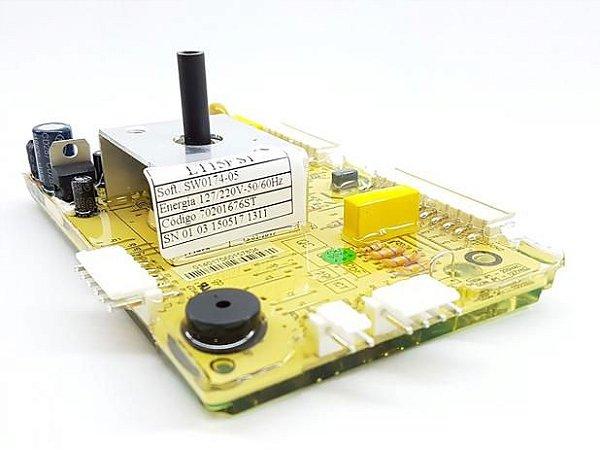PLACA ELETRONICA POTENCIA LAVADORA ELECTROLUX 70201676 LT15F 127V 220V ORIGINAL