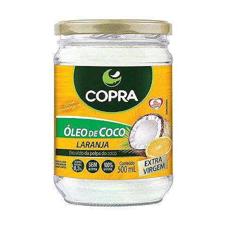 Óleo de Coco Extra Virgem Laranja 500ml