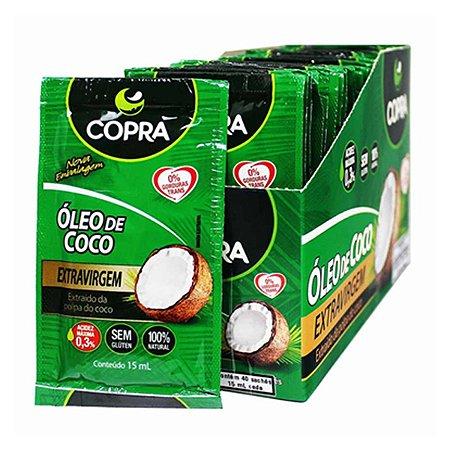 Óleo de Coco Extra Virgem Sachê 40x15ml