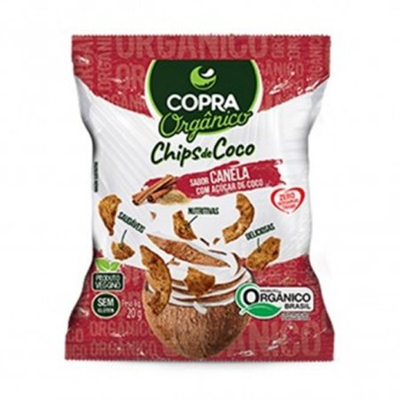 Coco Chips Orgânico Canela 60g