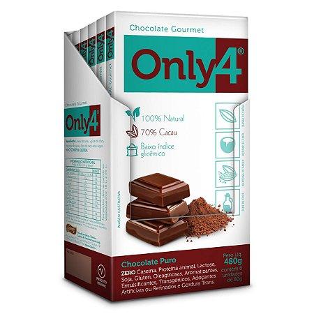 Chocolate Puro 70% Only 4 Display 6x80g