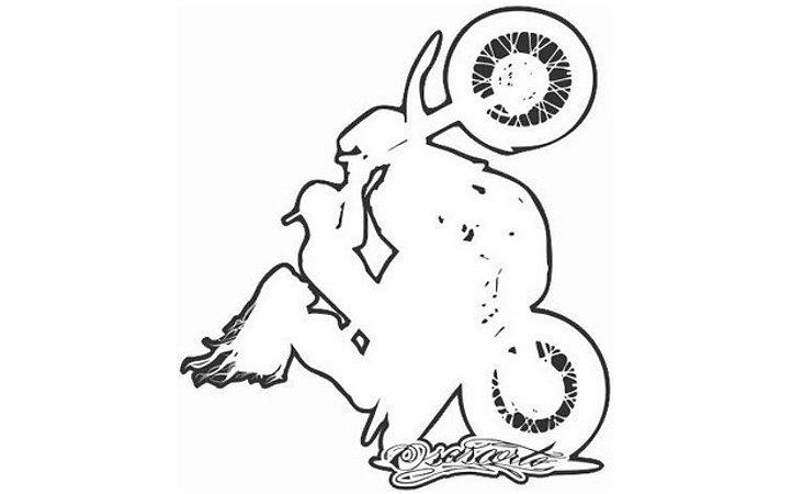 ADESIVO OSASCORTE - YAMAHA XT COM GARUPA